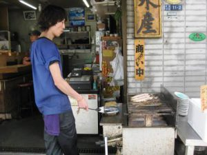 Japansk street food i Tokyo!