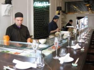 Anmeldelse af Yashin Sushi & Bar i London