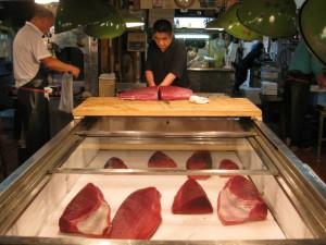 Tokyo: Del 2 – Tsukiji fiskemarked