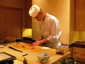 1 Michelinstjerne sushirestaurant i Tokyo
