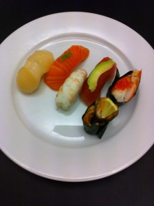 Nigiri sushi for øvede