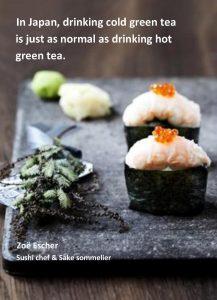 Japansk grøn tea