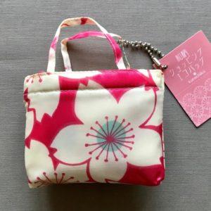 Japansk indkøbspose med blomster