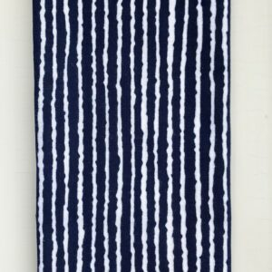 Japansk blå stribet pynteklæde