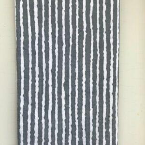 Japansk grå stribet pynteklæde