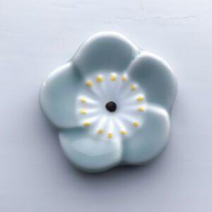 Celadon flad blomst spisepindeholder