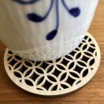 Japansk bordskåner Med Ringmønster