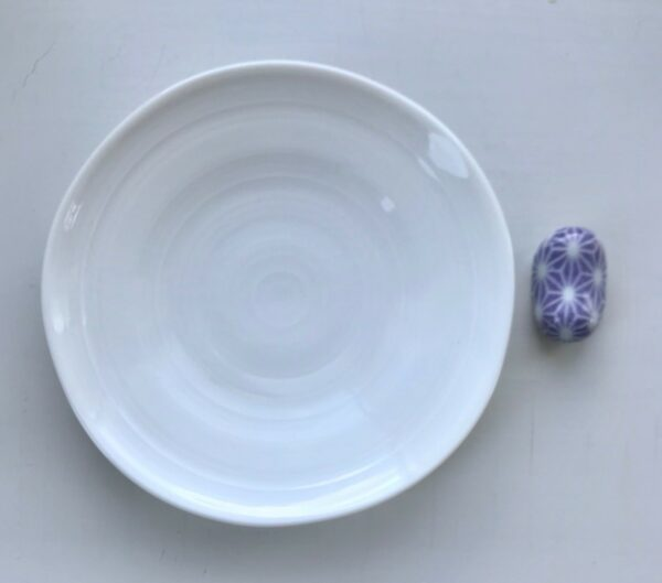 Hvid og lilla sushi spisesæt