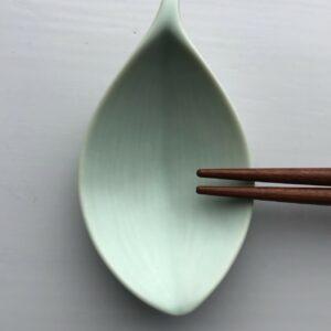 Japansk Mintgrøn Bladformet Spisepindeholder