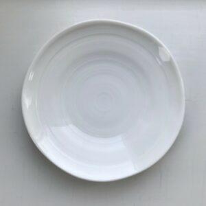 apansk hvid soyaskål med bløde kanter