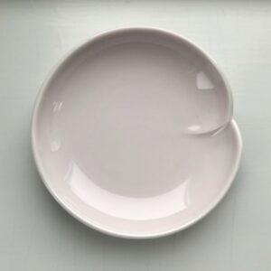 Japansk rosa soyaskål med en fold