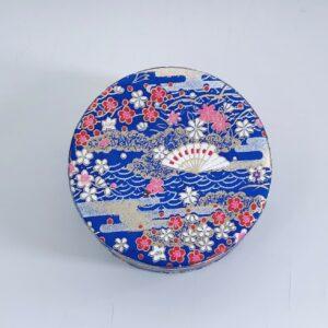 Japanske håndlavet tedåser med dobbeltlåg - Gratis fragt