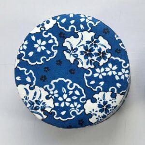Tedåse hvide og blå snefnug