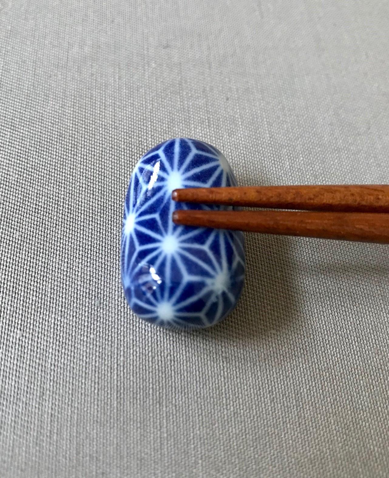 Japansk Mørkeblå Spisepindeholder