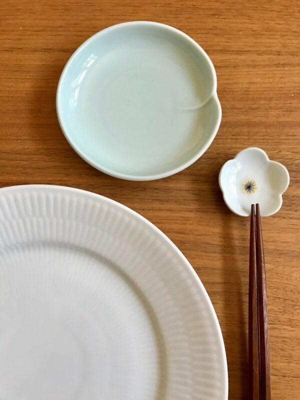 Celadon og hvid sæt