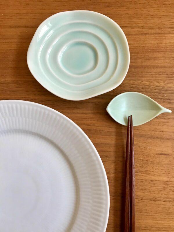 Celadon og mintgrøn sæt