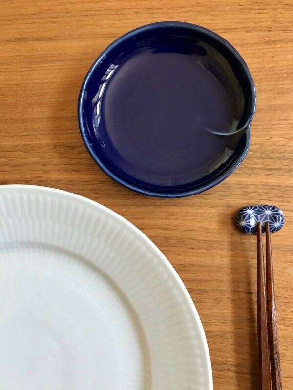 blå og marineblå sæt