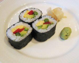 Spis vegetarisk sushi uden at gå på kompromis med den gode smag