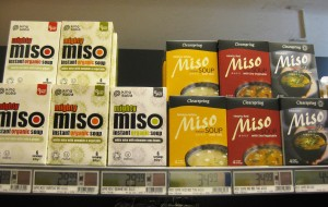 Instant misosuppe