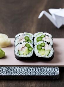 På hvilken måde adskiller en japansk sushirestaurant?