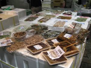 Tsukiji fiskemarked i Tokyo