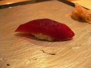 Tokyo: Del 1- Anmeldelse af 1 Michelinstjerne sushirestaurant Sushi Iwa