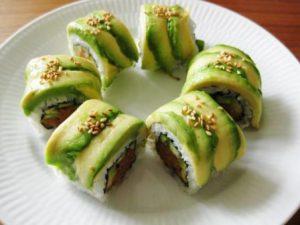 Spicy tuna roll med en twist