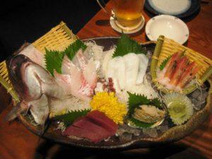Japansk sashimi