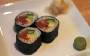 Spicy tuna roll!