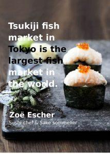 Tsukiji fiskemarked, Tokyo