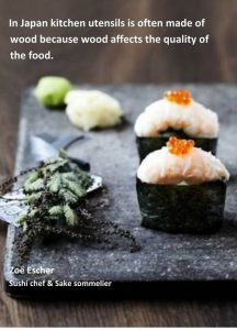 Japansk køkkenudstyr
