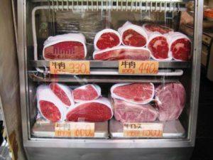 Japansk Wagyu kød