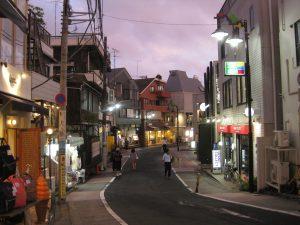 Japansk arkitektur i Tokyo