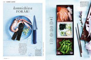 Japanske opskrifter i magasinet Mad & Bolig