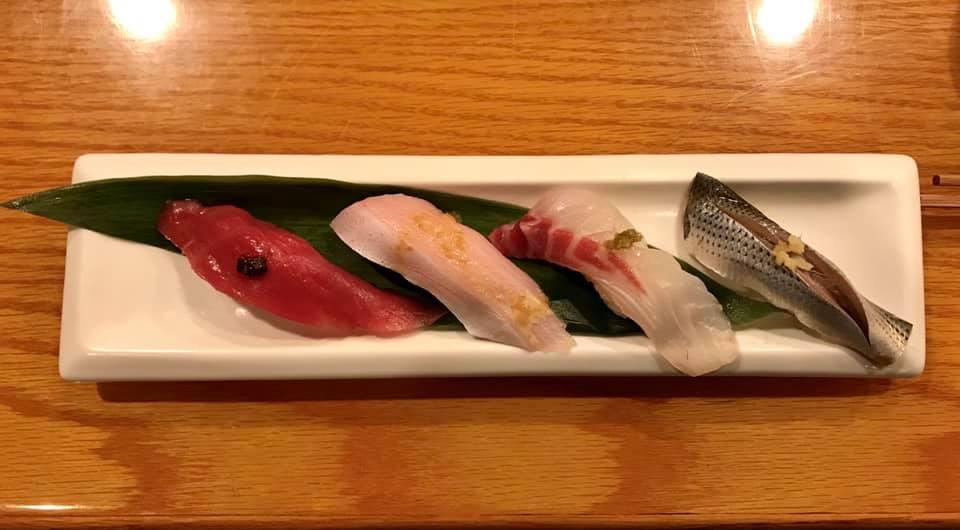 Lidt mere japansk sushi i Los Angeles
