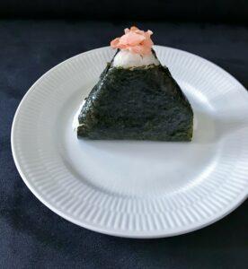 Onigiri - japansk risbolle med fyld